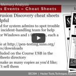 WEBCAST: Live Forensics & Memory Analysis