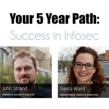 Your 5 Year Path Success in Infosec
