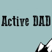active dad in studio title