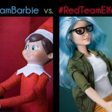 BB elf and barbie split 2