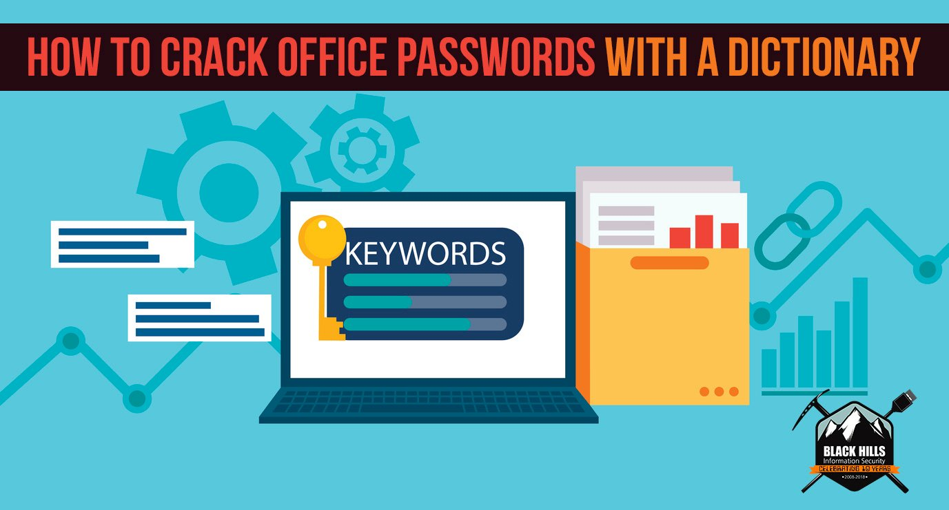 How to Crack Office Passwords with a Dictionary - Black