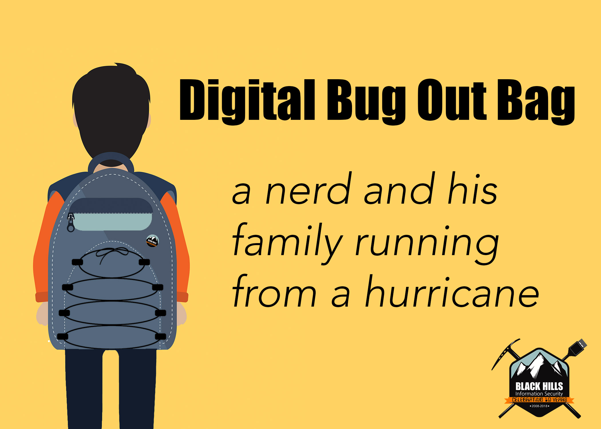 Digital Bug Out Bag: A Nerd and His Family Running From a Hurricane