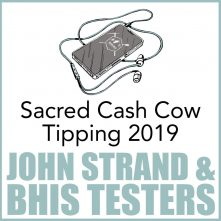 Sacred Cash Cow Tipping 2019 Podcast