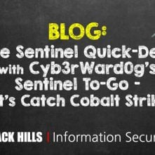 Azure Sentinel Quick-Deploy with Cyb3rWard0g's Sentinel To-Go – Let's Catch Cobalt Strike!