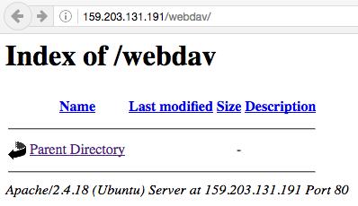 Webdav Port