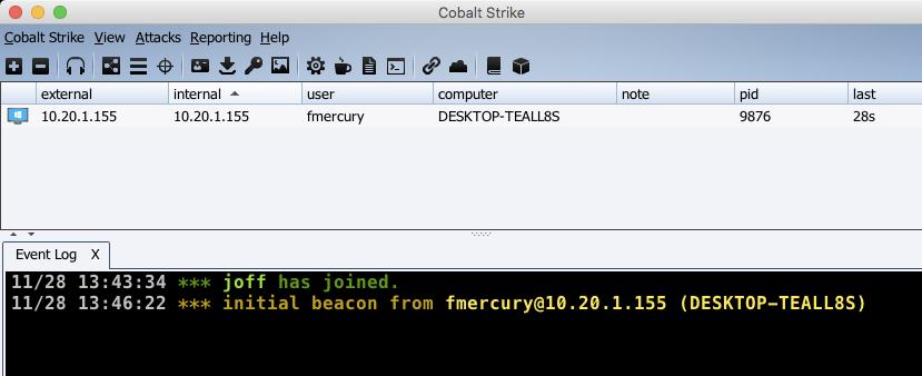 A Morning with Cobalt Strike & Symantec - Black Hills Information