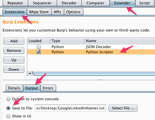 Gathering Usernames from Google LinkedIn Results Using Burp Suite