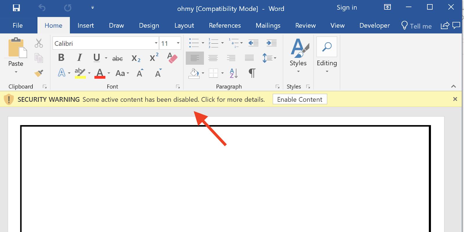 Having Fun with ActiveX Controls in Microsoft Word - Black
